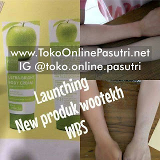 Woo Tekh Brightening Body Cream wootekh handbody, hand body, HB lotion, pemutih tubuh badan