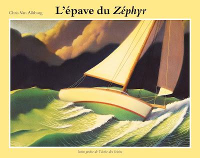 l epave du zephir van allsburg