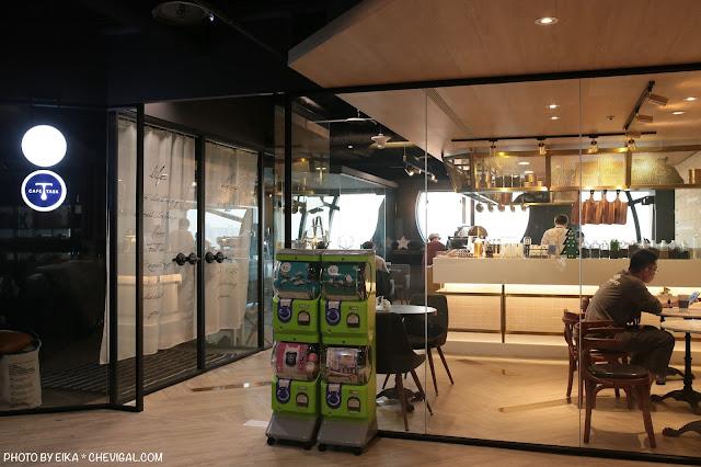 IMG 9839 - 台中南區│咖啡任務,全台最高樓層咖啡廳就在台中!隱身在商辦大樓裡的絕美夜景超療癒!