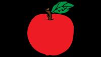 apple clip art border