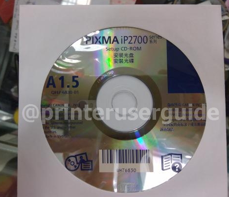 cd driver printer canon ip2770