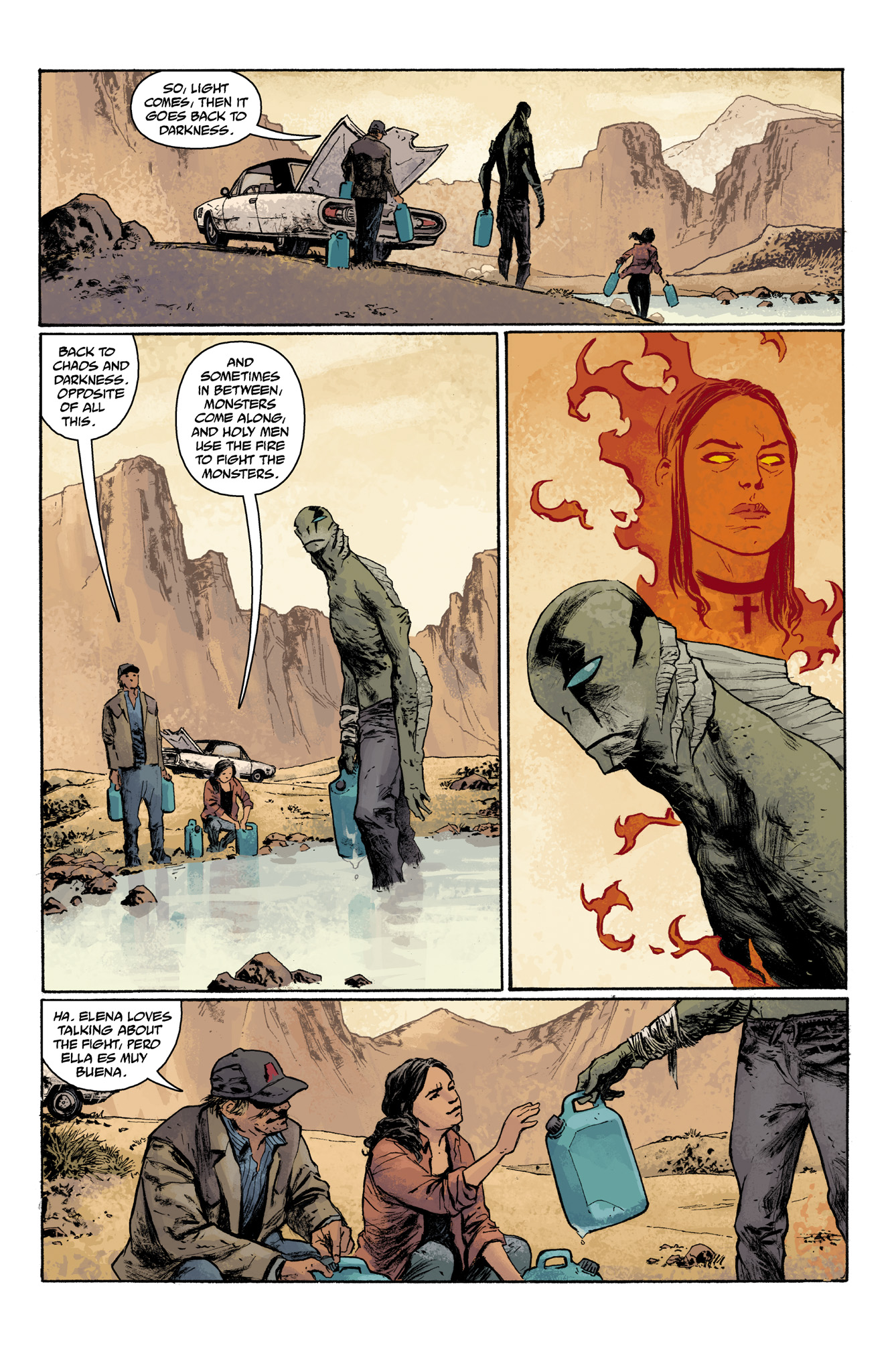 Read online Abe Sapien comic -  Issue #7 - 5