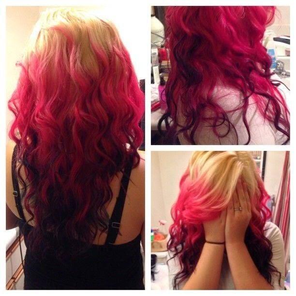 Red Blonde hair