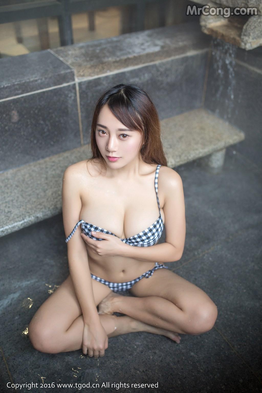 TGOD 2016-01-28: Người mẫu Xing Yi (猩一) (46 ảnh)