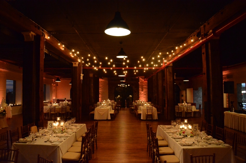 Universal Light and Sound - Recent Events: String Lights & Up-Lighting - The Liberty Warehouse ...