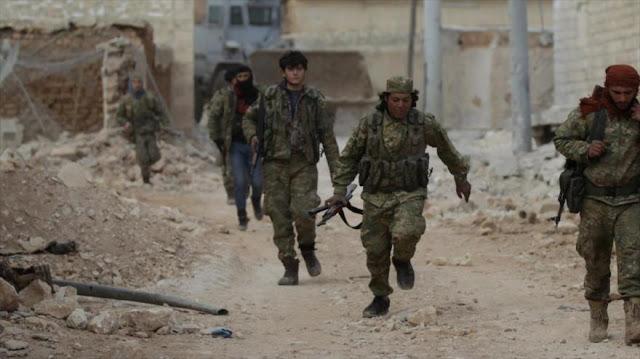 Informe: Pentágono paga salarios a 10.000 milicianos en Siria