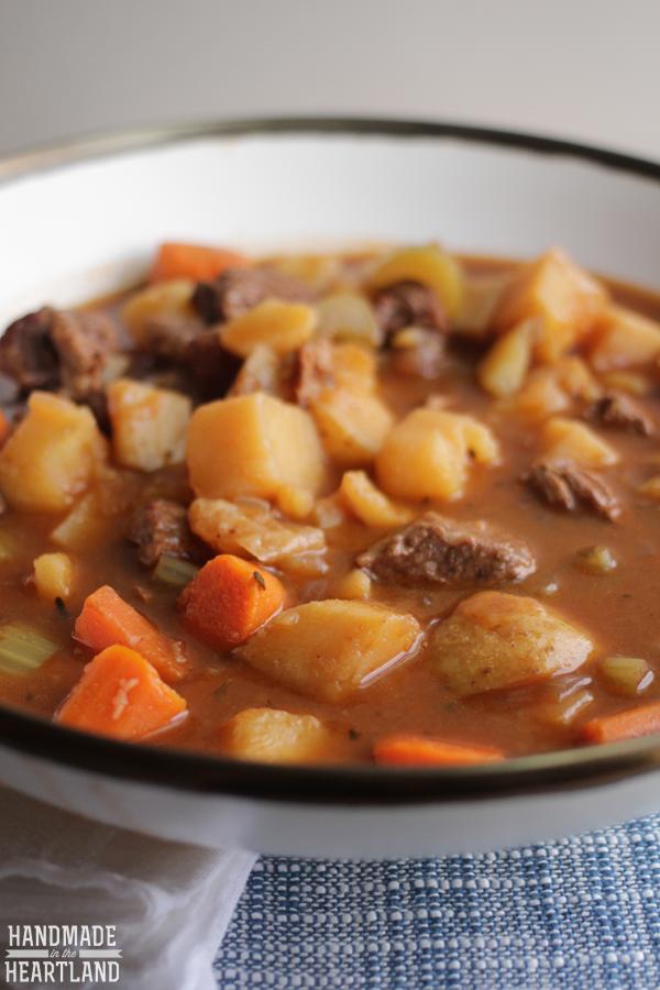 Crock-Pot Beef Stew Recipe
