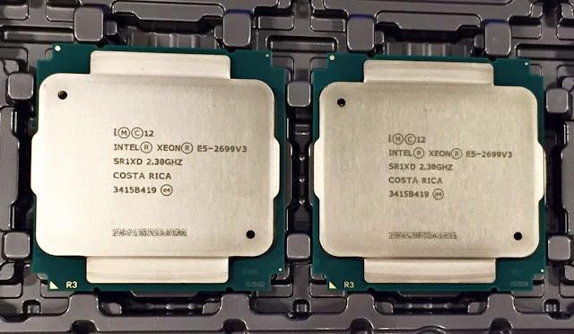 Dual Xeon E5-2699V3