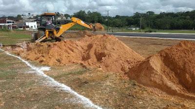 Campo de futebol society em Sete Barras promete aumentar e diversificar atividades esportivas no Município