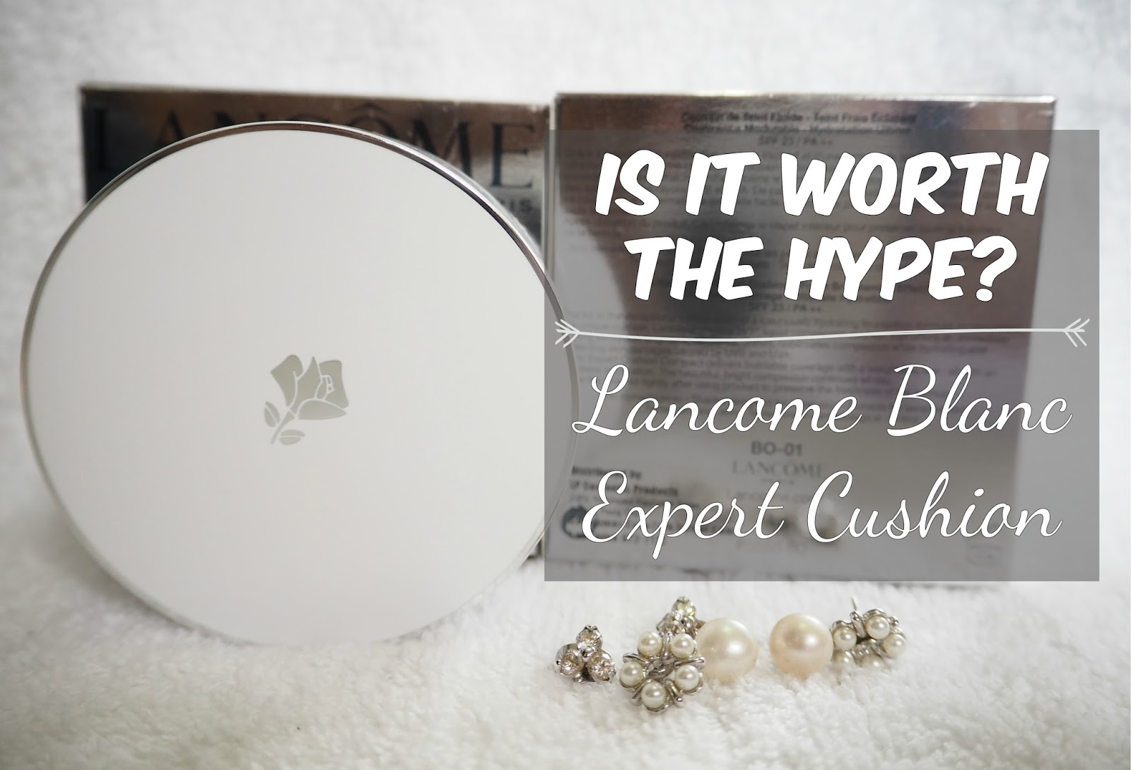 Lancome Blanc Expert Cushion Foundation