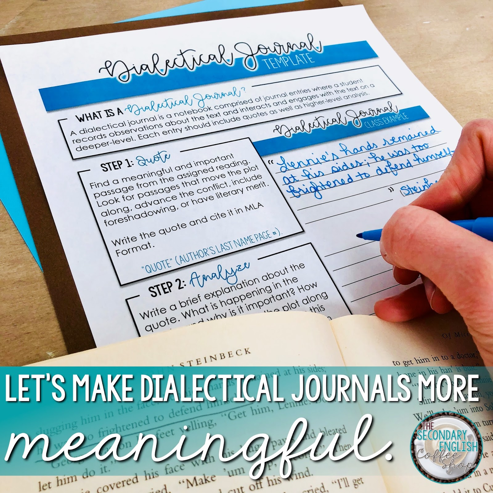 Dialectical journals in the ela classroom the secondary english to help students write more analytical dialectical journals ive created this free dialectical journal template this template includes both color and altavistaventures Gallery