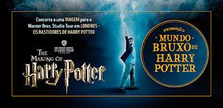 """Promoção """"Mundo Bruxo Harry Potter"""""""