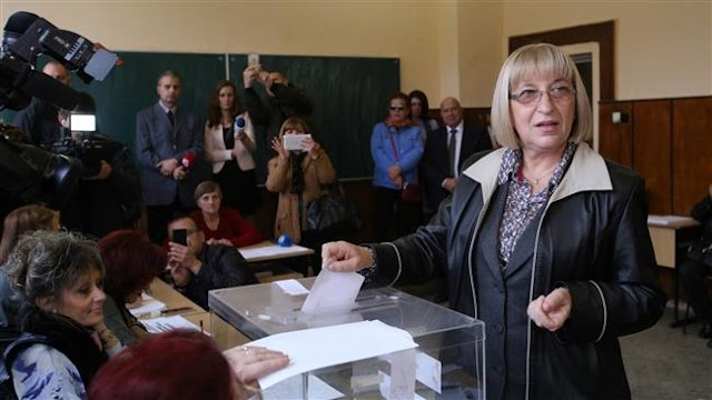 People in Bulgaria heading to polls in presidential election