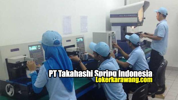 PT Takahashi Spring Indonesia Jababeka