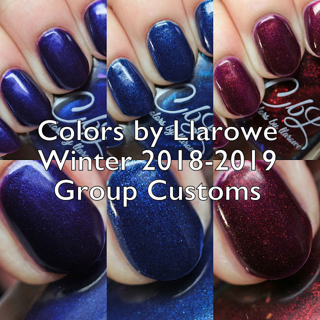 Colors by Llarowe Group Customs Winter 2018-2019
