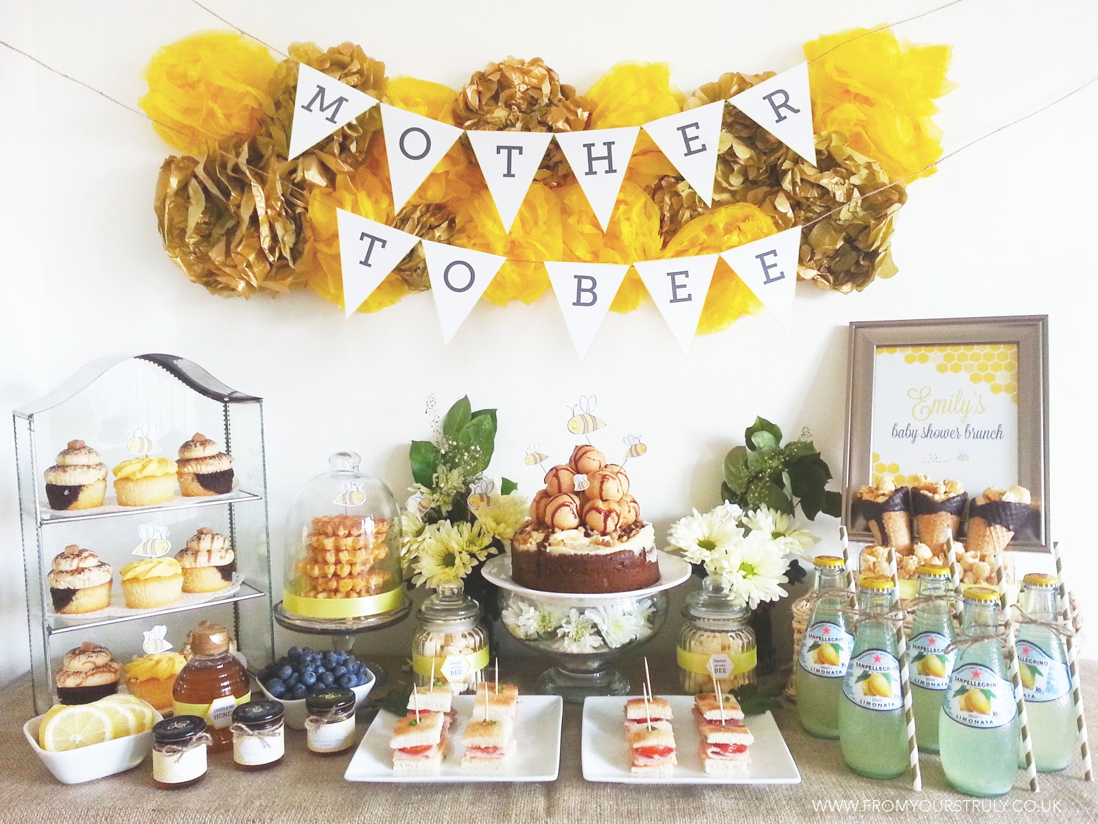 What Better Way To Celebrate A New Life Than Baby Shower For The Mother Be I Love Spring As Occasion Seems Fit So Perfectly With