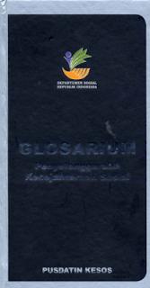 Ebook Glosarium Penyelenggaraan Kesejahteraan Sosial