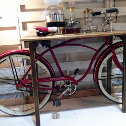 Brilliant Bicycle Decor for the Home and Garden   The Cottage Market A Brilliant Idea