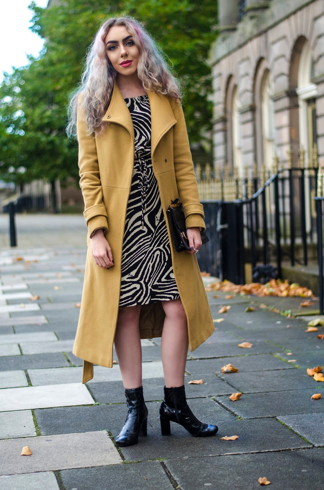 tips on styling a coat