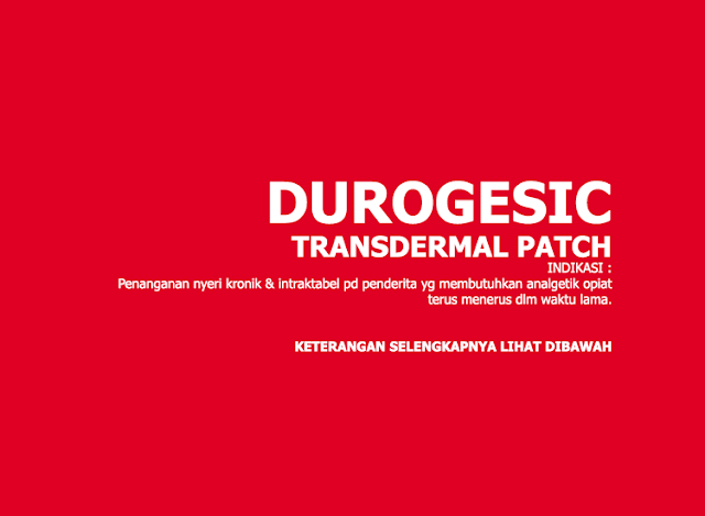 Durogesic : Fentanyl Transdermal Patch 12 mcg/hr, 25 mcg/hr, 50 mcg/hr