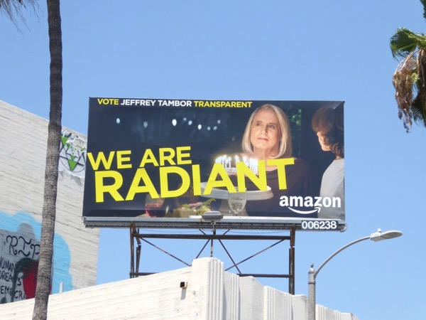 Transparent We are Radiant Emmy billboard