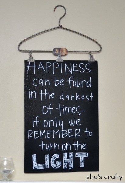How to decorate for a Harry Potter party- posters with movie quotes