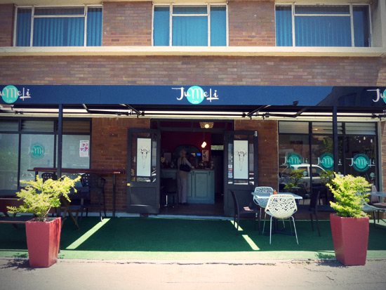 Jumeli, an awesome restaurant and coffee shop in Glenwood, Durban.