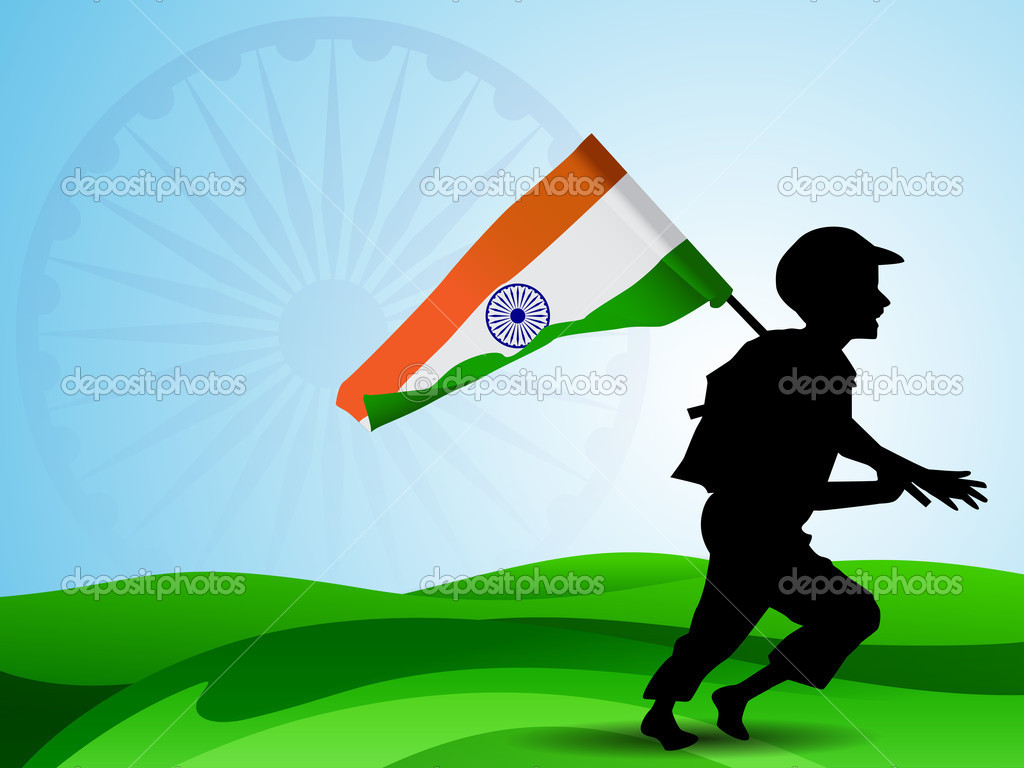Indian Flag With Different Views: My Inner Views