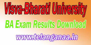 Visva-Bharati University BA Exam Results Download