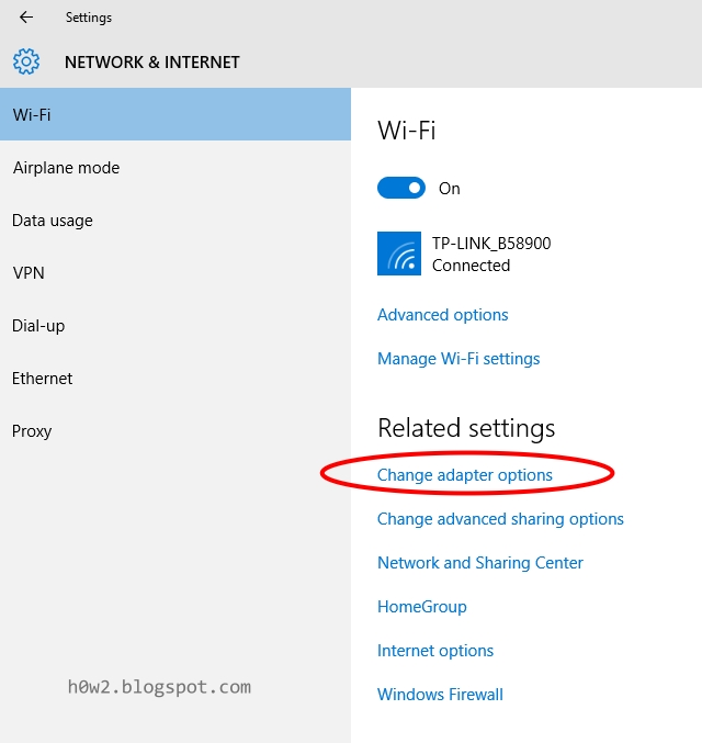 windows 10 how to choose a wifi channel
