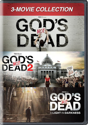 God's Not Dead Coleccion DVD R1 NTSC Latino