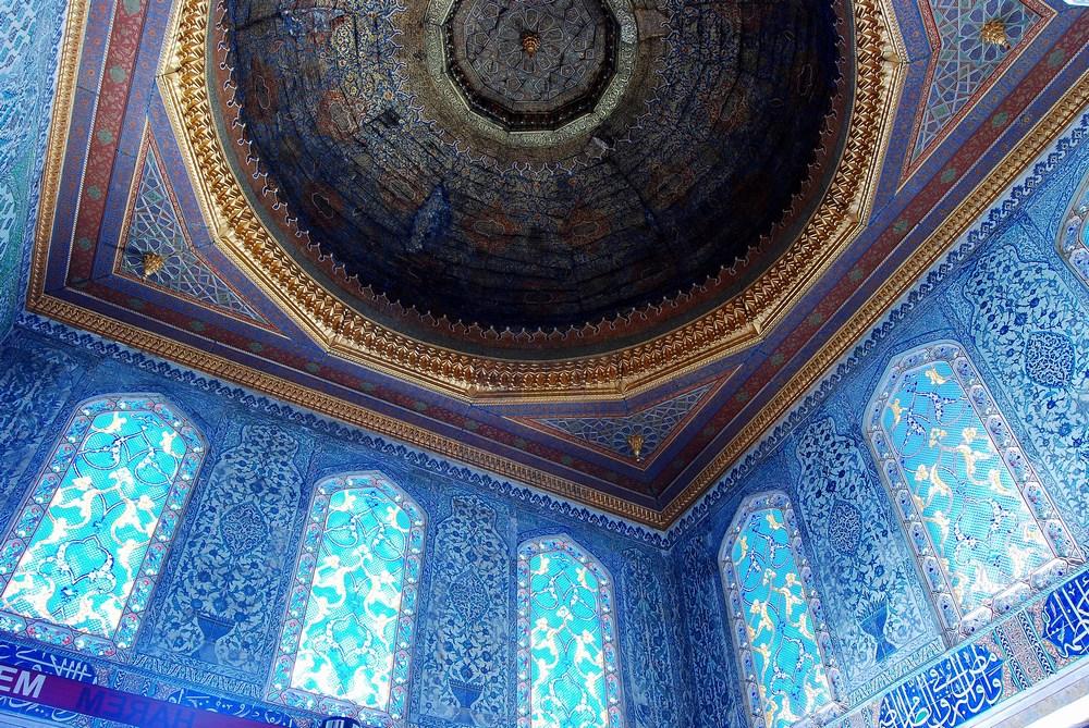 autre remarquable chambre, celle d'Ahmet Ier