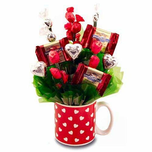 Bouquet de golosinas