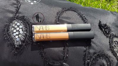 NARS Radiant Creamy Concealers 'Caramel' and 'Cafe' - www.modenmakeup.com
