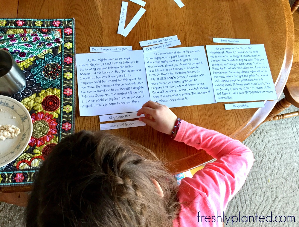 A fun, hands-on writing curriculum to help your active reader become a writer too