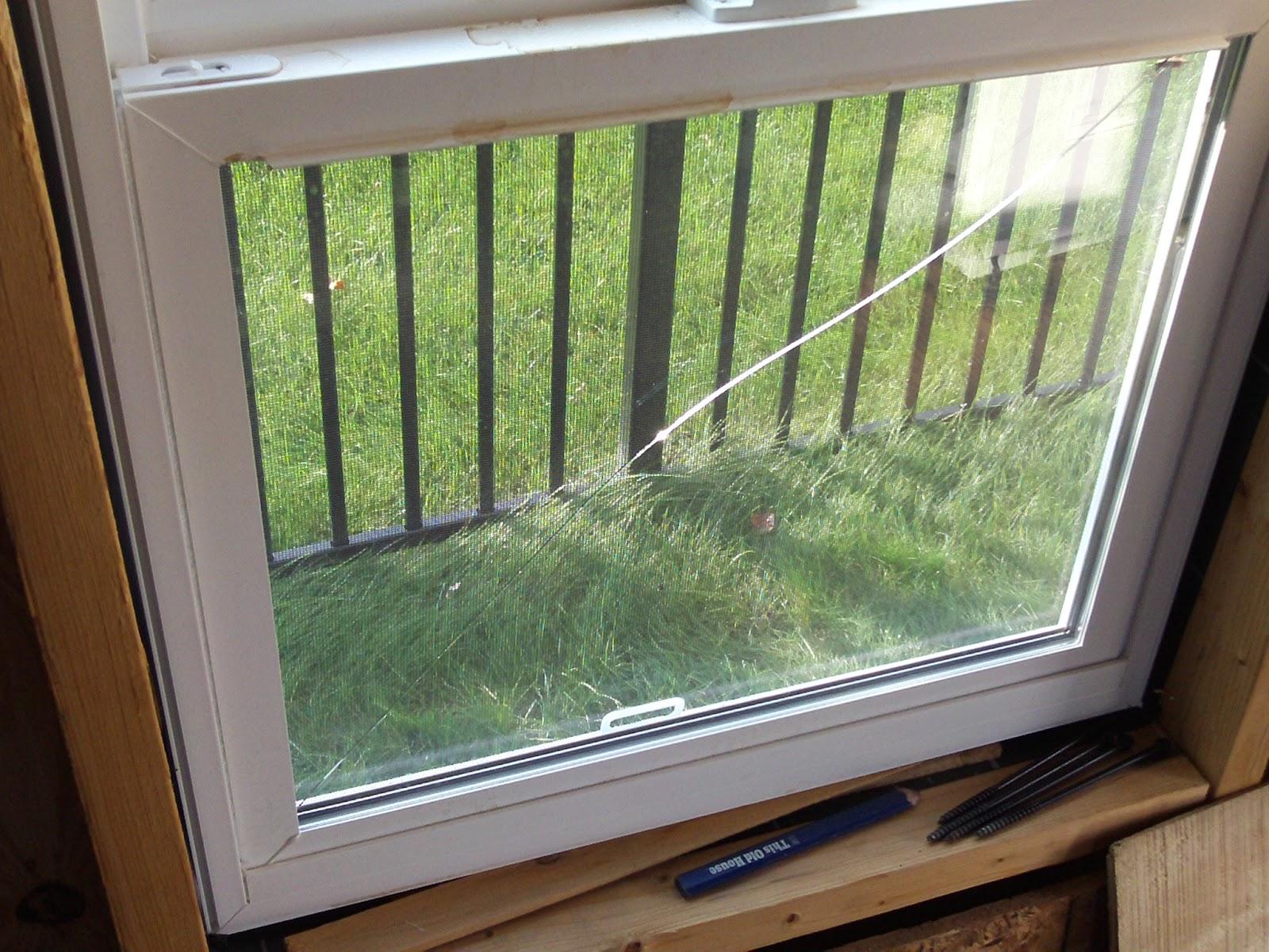 Sonoma Shanty Outside Primed And Broken Window