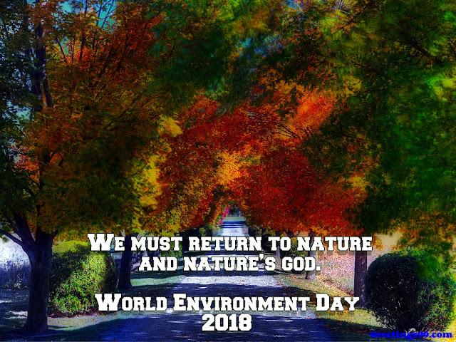 World Environment Day 2018 Slogans