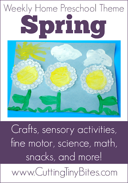 Crafts, snacks, fine motor, science, math, picture books, and more. EASY activities for one week of homeschool pre-k.
