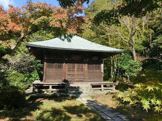 鎌倉・浄光明寺不動堂