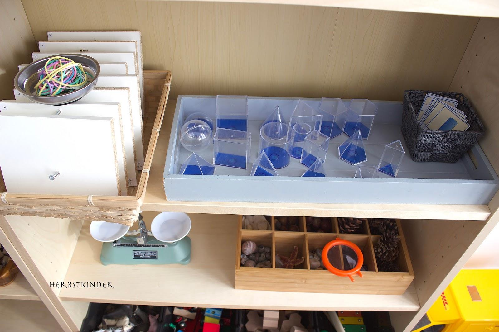 Das Spielregal nach Montessori