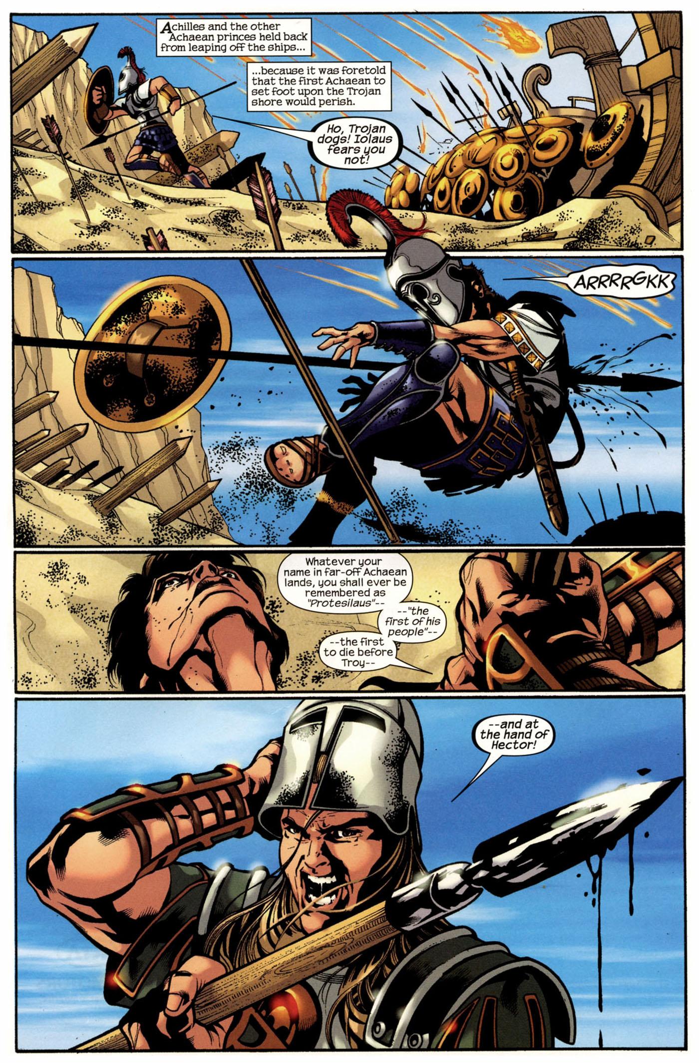 Read online Trojan War comic -  Issue #2 - 14