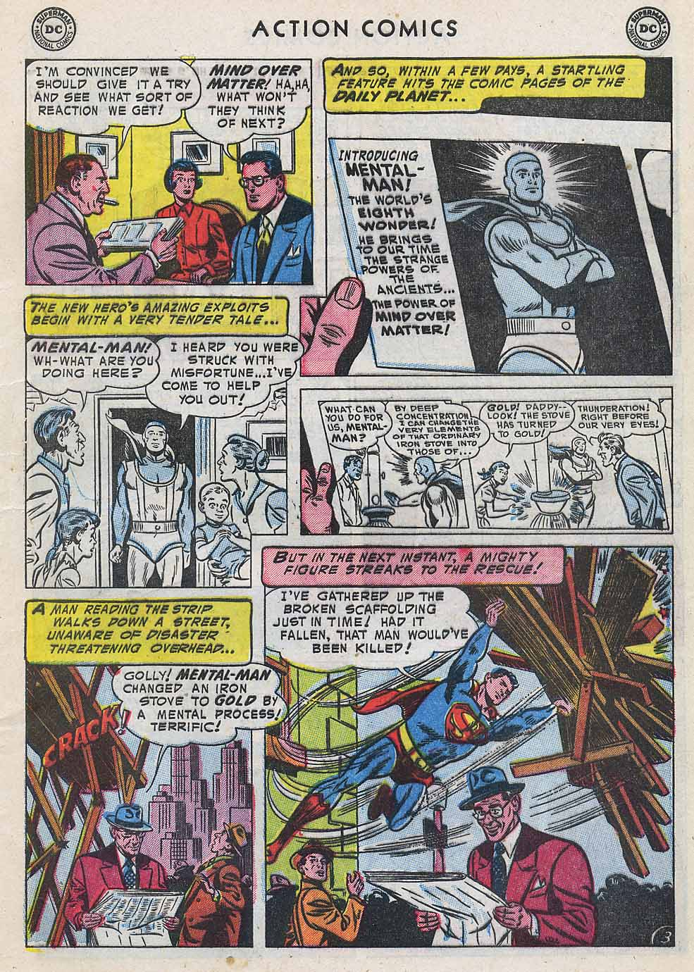 Read online Action Comics (1938) comic -  Issue #196 - 5