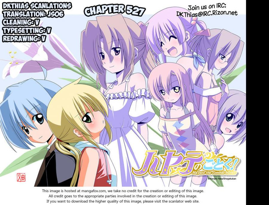 Hayate the Combat Butler - Chapter 563