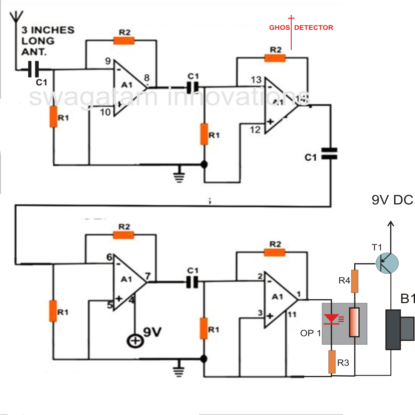 Burglar Alarm Project Using Ic 555 And Ldr Timer Light Dependent Resistorldr Build Circuit Pictures