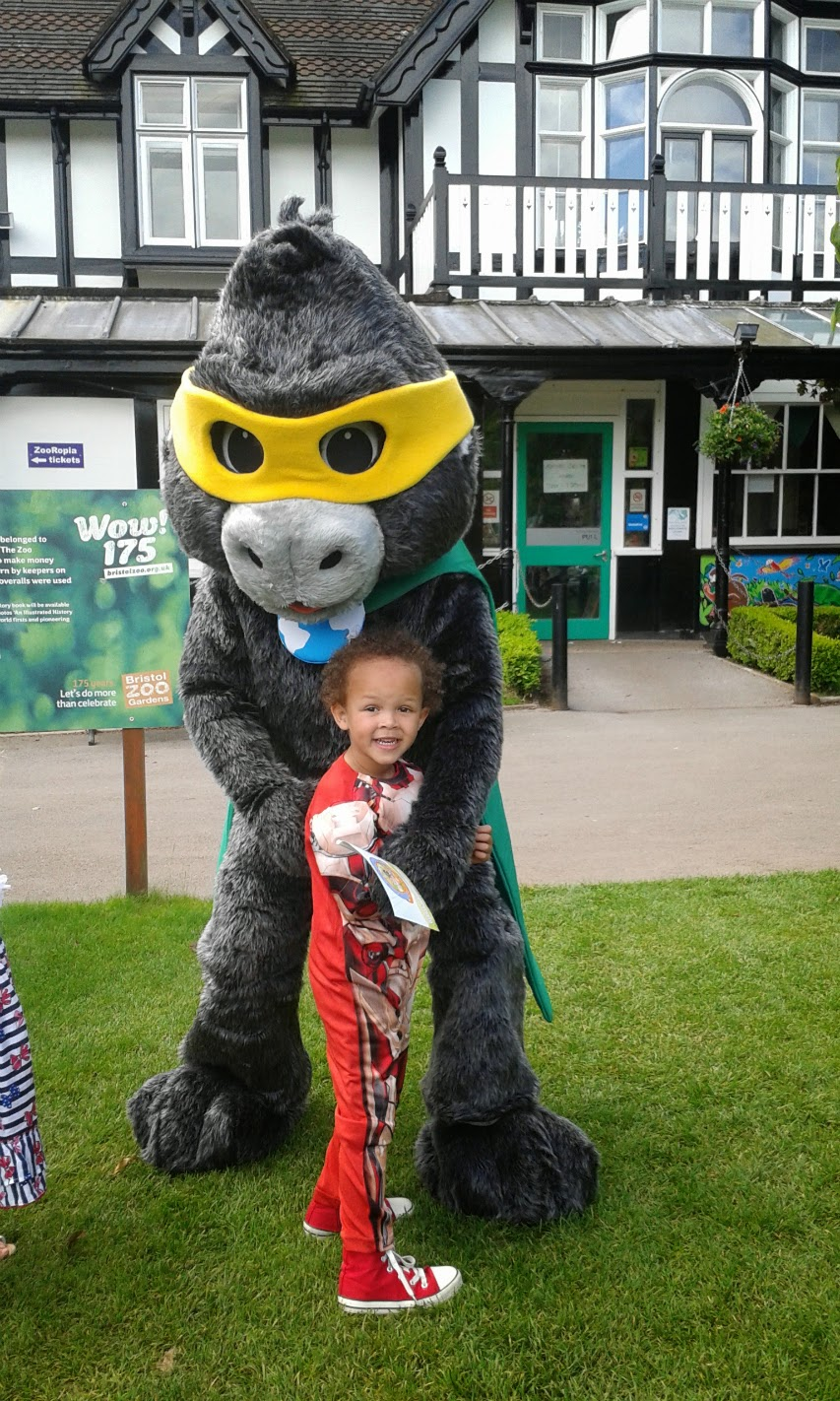 The Mascot of Bristol Zoo.
