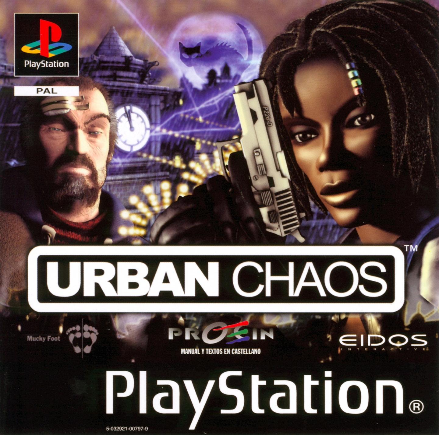 Urban Chaos ISO PS1