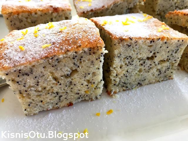 Haşhaşlı kek tarifi, Kek Tarifleri, Kişniş, Kisnis, Çay, Nefis, Kolay