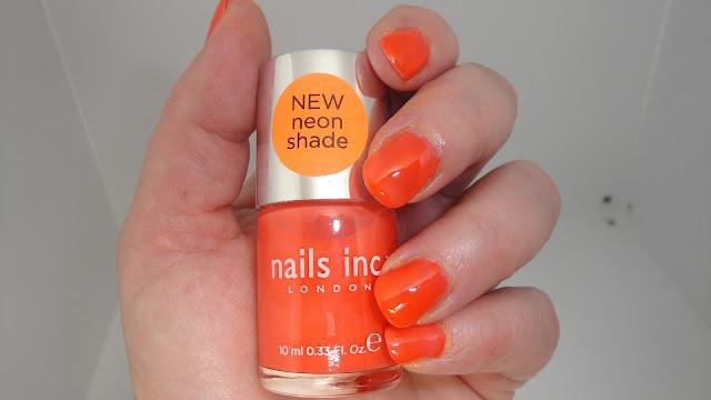 Jayded Dreaming Beauty Blog Nails Inc Portobello Neon Nailpolish