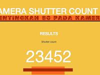 """Pentingkah Jumlah SC """"shutter count"""" Pada Kamera Dslr"""