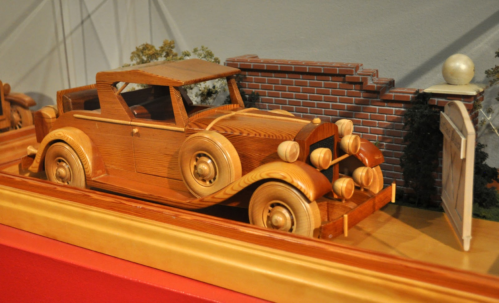 just a car guy william howe s great wood model cars